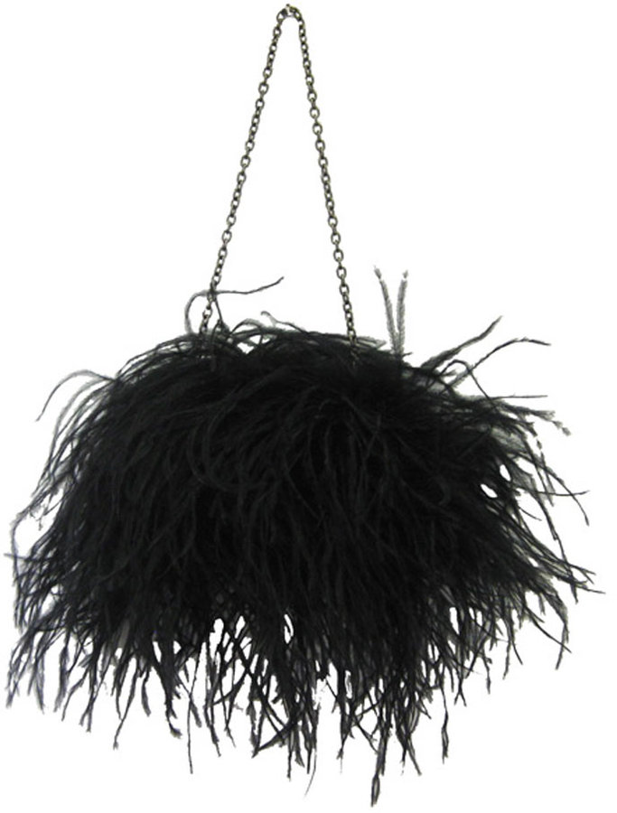 Marabou Feathers Clutch