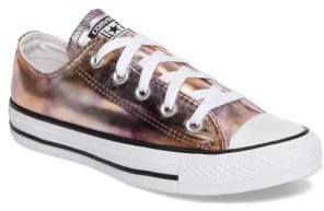 Women's Converse Chuck Taylor All Star Seasonal Metallic Ox Low Top Sneaker $59.95 thestylecure.com