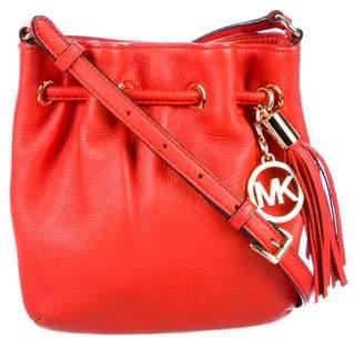 4546182c295fc3 MICHAEL Michael Kors Leather Bucket Bag