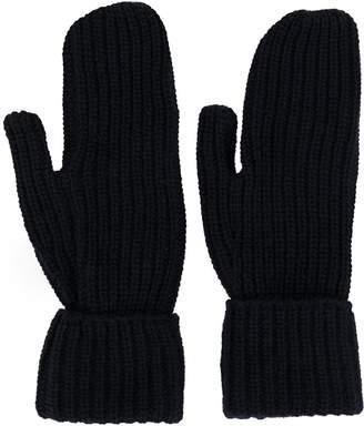 Wood Wood Elna ribbed-knit gloves