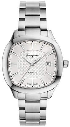 Salvatore Ferragamo Automatic Square Bracelet Watch