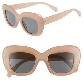 Leith 50mm Square Sunglasses