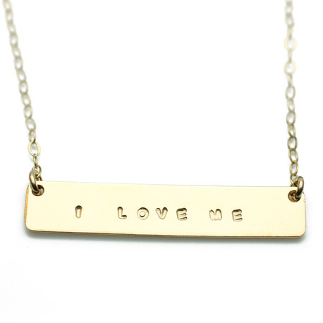 The Urban Smith I Love Me Necklace