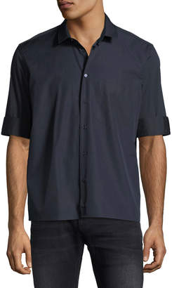 Neil Barrett Fold-Cuff Pocket Sport Shirt