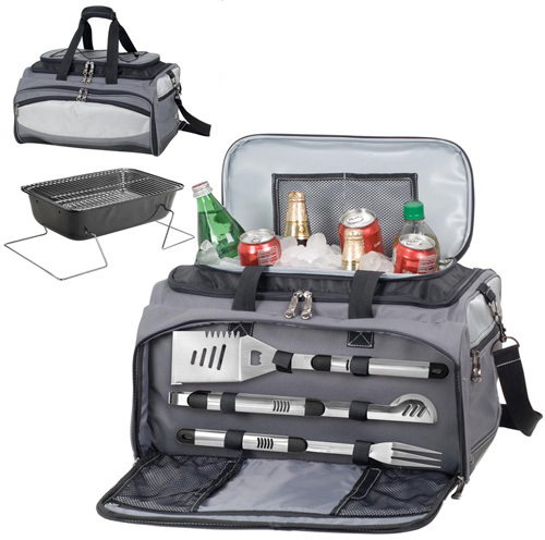 Picnic Time Buccaneer Grill and Cooler Travel Tote