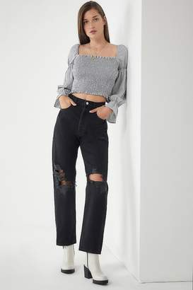 A Gold E AGOLDE '90s High-Rise Loose Fit Jean - Audio