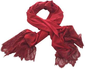 Valentino Vintage Red Other Scarves