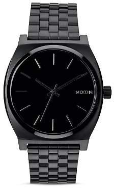 Nixon Time Teller All-Black Watch, 37mm