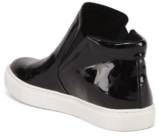 Leather Hightop Sneakers