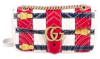 Gucci GG Marmont Trompe L'oeil Medium Shoulder Bag Cream GG Marmont Trompe L'oeil Medium Shoulder Bag