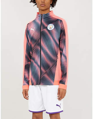 Puma Manchester City Stadium jersey football jacket