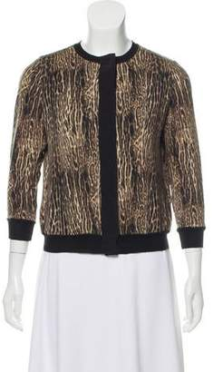 Giambattista Valli Wool Knit Cardigan