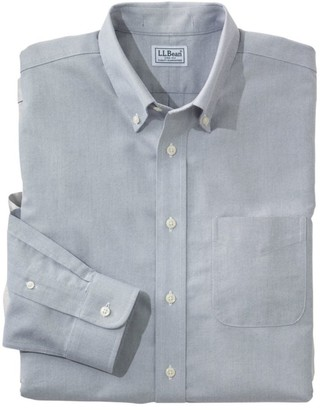L.L. Bean L.L.Bean Men's Wrinkle-Free Classic Oxford Cloth Shirt, Traditional Fit