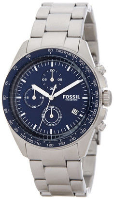 Fossil Men&s Sport 54 Chronograph Bracelet Watch $155 thestylecure.com