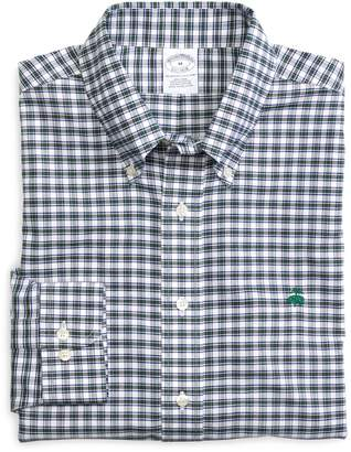Brooks Brothers Non-Iron Slim Fit Check Sport Shirt