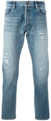 Saint Laurent low-waist slim-fit jeans