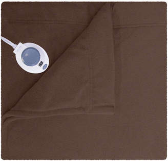 SAFE AND WARM Safe and WarmTM Luxurious Micro Fleece Electric Warming Blanket
