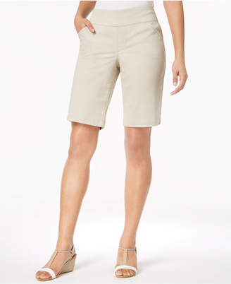 Style&Co. Style & Co Comfort-Waist Bermuda Shorts
