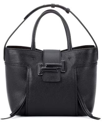 Tod's Double T leather shopper