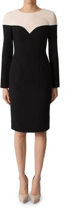 Black Halo Women's Marla Colorblock Sheath Dress