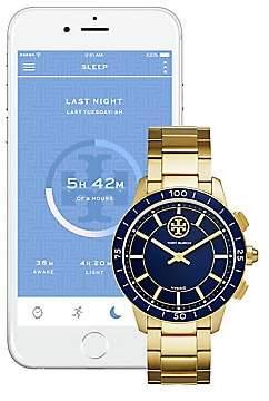 Tory Burch Women's Collins Hybrid Stainless Steel Bracelet Smart Watch