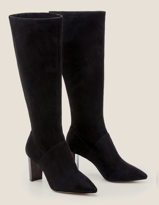 2e15c58d9 Black Pointed Boots - ShopStyle UK