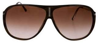 Versace Aviator Gradient Sunglasses