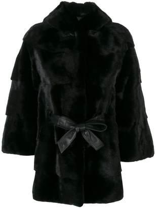 Cara Mila Zofia Mink Coat