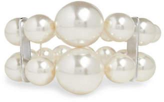 Cezanne Statement Pearls Faux Pearl Beaded Bracelet