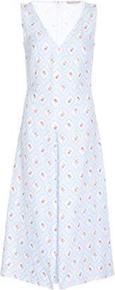 Emilia Wickstead M'O Exclusive Printed V-Neck Della Dress