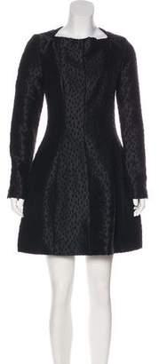 Kenzo Long Sleeve Mini Dress