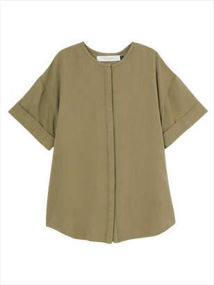 LAGUNAMOON (ラグナムーン) - ノーカラーツイルシャツ