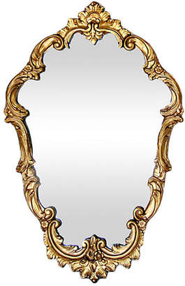 One Kings Lane Vintage 19th-C. French Giltwood Mirror