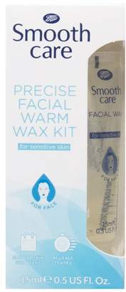 Care Boots Smooth Facial Wax Kit for Sensitive Skin 15ml