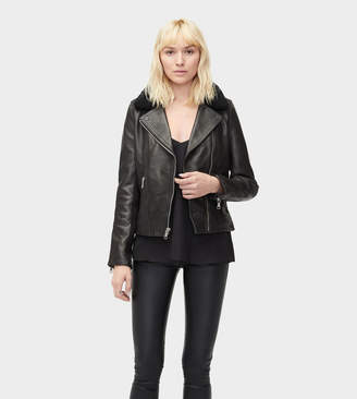 UGG Andee Leather Cycle Jacket
