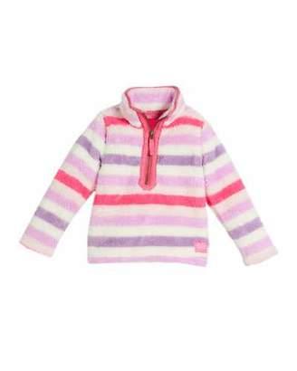 Joules Multicolored Stripe Fleece Pullover, Size 2-6