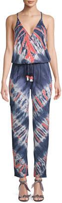 YFB Clothing Yfb Clothing Chrissy Tie-Dye Jumpsuit