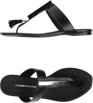 CNC Costume National Toe strap sandals
