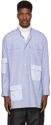 J.W.Anderson Indigo Long Workwear Contrast Shirt