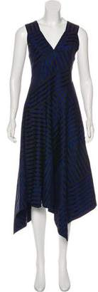 Derek Lam Striped Asymmetric Dress w/ Tags