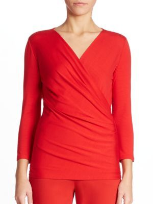 Max Mara Caprice Solid Top $375 thestylecure.com