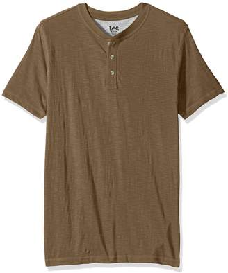 Lee Men's the Weekender Henley Shirt, is color