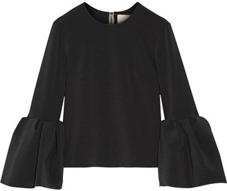 Roksanda - Truffaut Stretch-crepe Top - Black $985 thestylecure.com