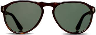Dom Vetro Dark Tortoise F34 Base Zero Sunglasses