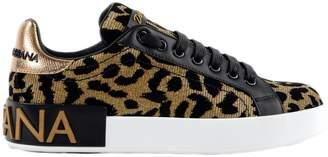 Dolce & Gabbana Leopard Sneakers