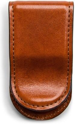 Bosca Leather Money Clip