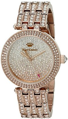 Juicy Couture Women's 1901377 Cali Analog Display Japanese Quartz Rose Gold-Tone Watch $461.35 thestylecure.com
