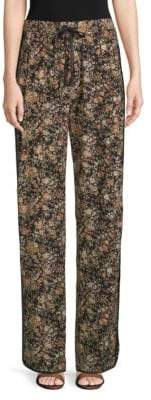 ADAM by Adam Lippes Silk Floral Lounge Pants