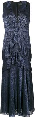 Saloni sleeveless tiered dress