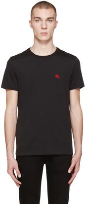 Burberry Black Tunworth T-Shirt $105 thestylecure.com